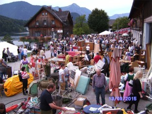 Fetzenmarkt in Grundlsee