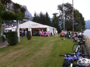 Gartenfest bei der Gemeinde