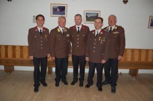 Bgm Steinegger Franz, LBDstv. Pötsch Gerhard, HBI Fuchs Mario, OBI Gasperl Alexander, ABI Fischer Werner
